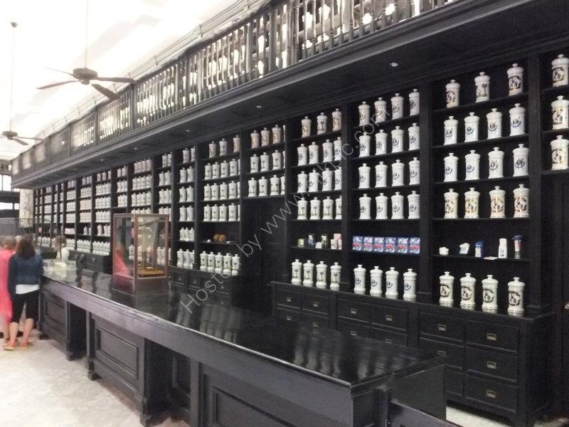 Old Pharmacy, Obispo Street, Havana