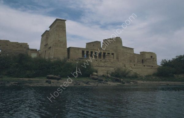 View of Temple of Isis, Philae, Agilkia Island, Aswan
