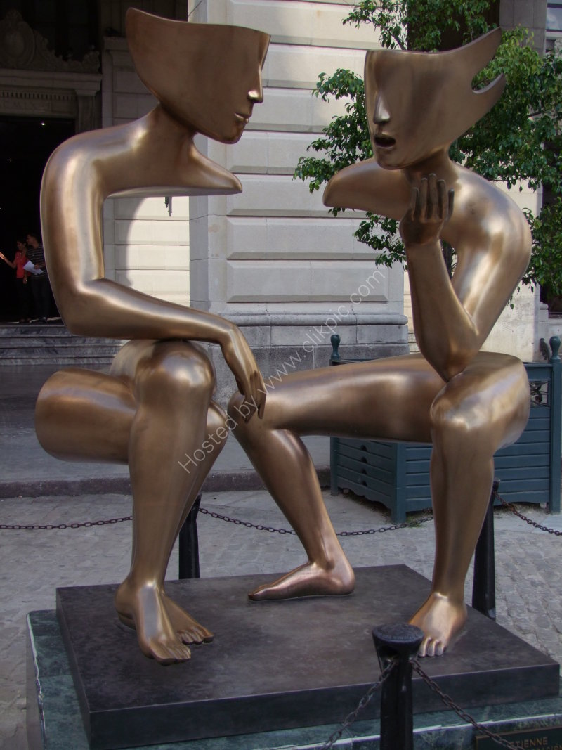 Modern Bronze, Plaza San Fransisco, Havana