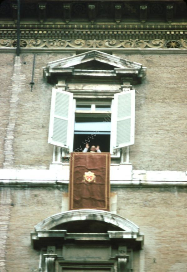 Pope at Window, St Peter's Square, Vatican