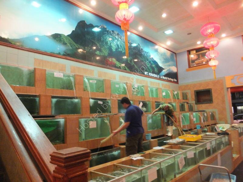 Fresh Seafood Restaurant, Port View, Kota Kinabalu
