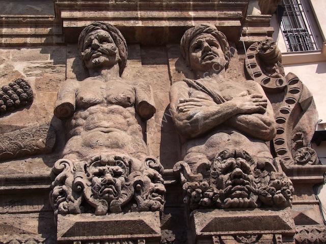 Relief on Porta Nuovo, Palermo