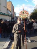 Sherlock Holmes in Portobello Road!, London
