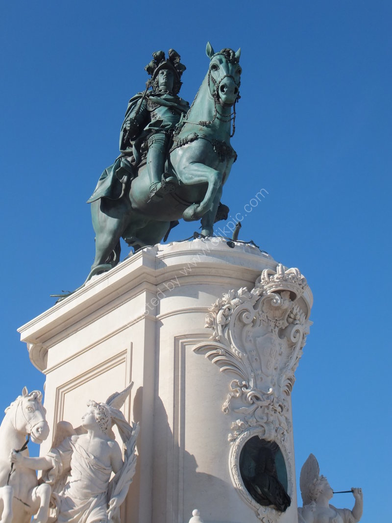 Statue of King Dom Jose I (18th century)