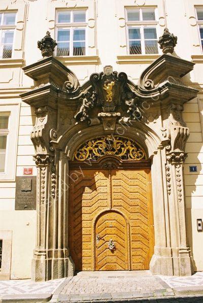 Doorway, Little Quarter, Prague