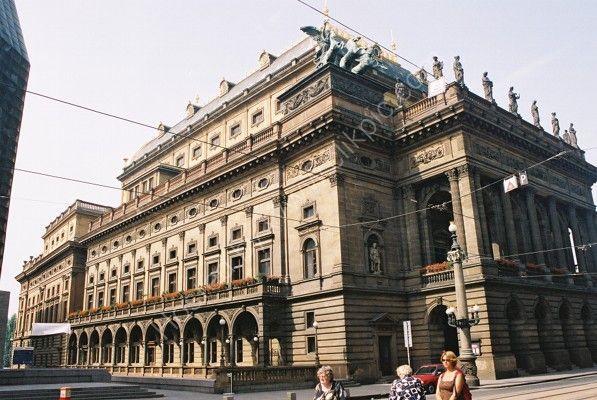 National Theatre, New Town, Prague