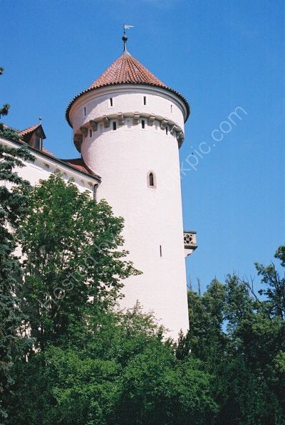 Konopiste Chateau, Czechoslovakia
