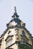 Detail on a Building, Old Town, Prague