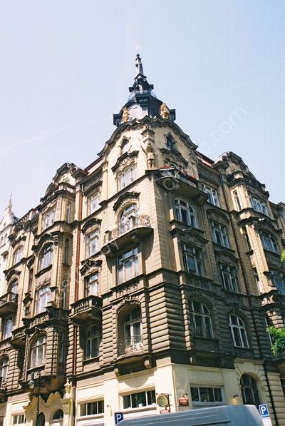 A Building in the Old Town, Prague