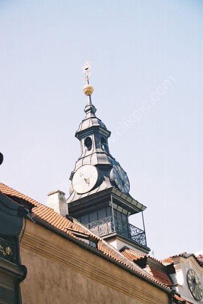 Tower Detail, Old Jewish Quarter, Prague