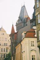 Towers, Old Jewish Quarter, Prague