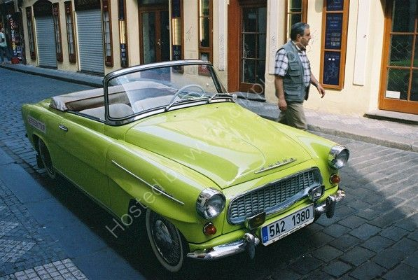 Old Skoda, Prague, Czech Republic