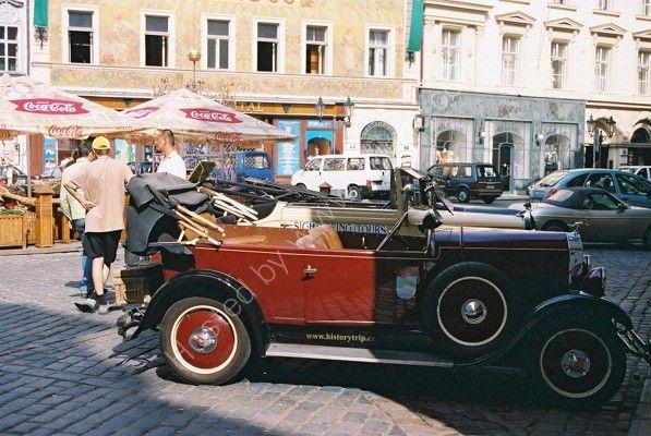 Old Cars, Prague, Czech Republic