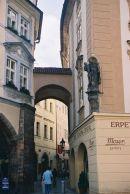 Melantrichova Passage leading to the New Town, Prague