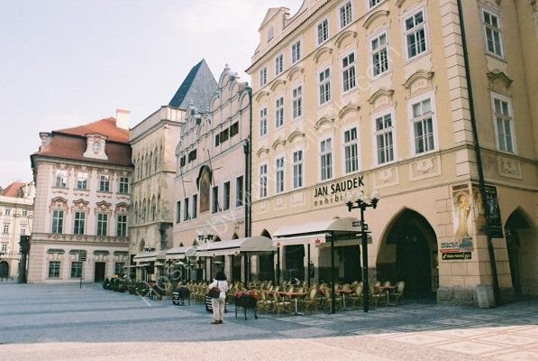 Buildings in Old Town Square, Prague
