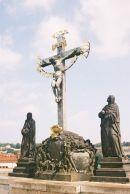 17th Century Crucifixion, Charles Bridge, Prague