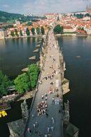 Charles Bridge looking from Old Town Side, Prague