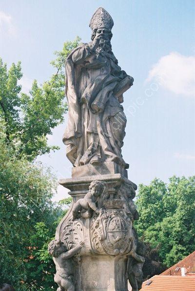 St Adalbert, 1709, Charles Bridge, Prague