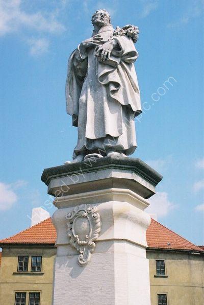 St Philip Benizi, 1714, Charles Bridge, Prague