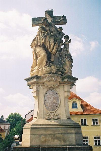 St Luitgard, 1710, Charles Bridge, Prague