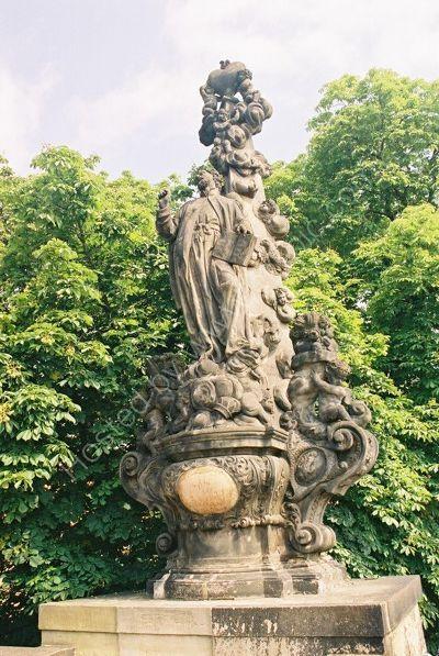 St Cajetan, 1709, Charles Bridge, Prague