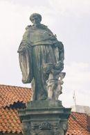 St Nicholas Tolentino, 1708, Charles Bridge, Prague