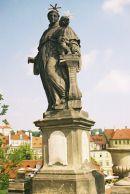 St Anthony of Padua, 1707, Charles Bridge, Prague