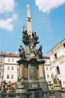 Charles IV Statue, 1848, Knights of the Cross Square, Old Town, Prague