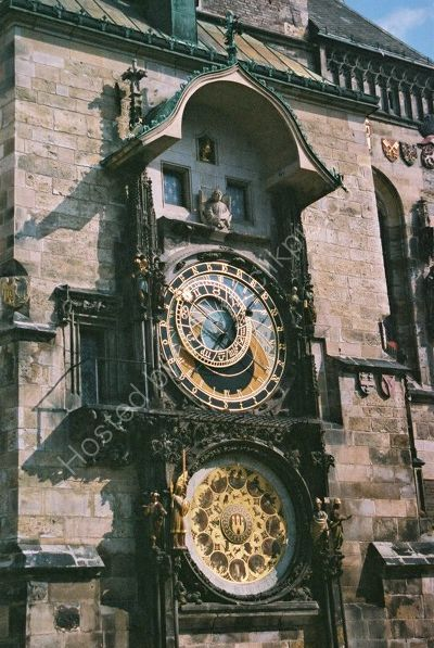 Town Hall Astronomical Clock, 1552 to 1572, Old Town Square, Prague