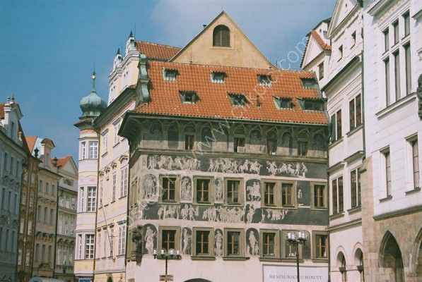 Building on Old Town Square, Prague