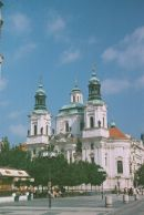 Church of St Nicholas, 1735, Old Town Main Square, Prague