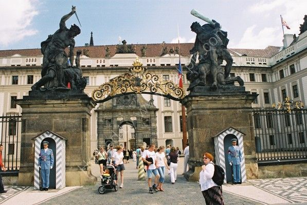 Entrance to Prague Castle