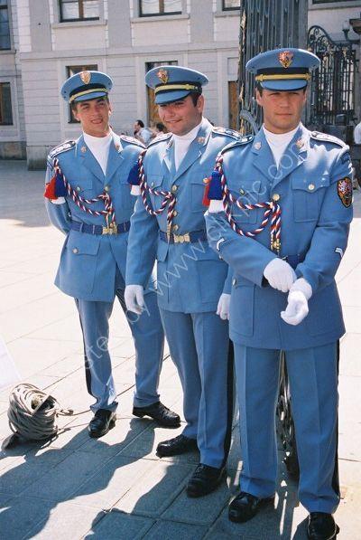 Palace Guards, Prague, Czechoslovakia
