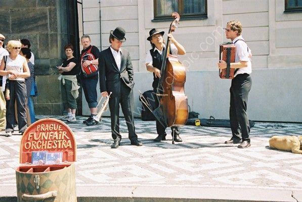 Funfare Orchestra, Prague Castle