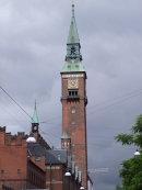Clock Tower of Radhus (City Hall)