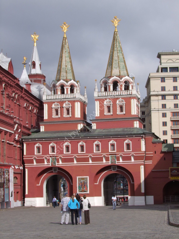 The Iversky (Resurrection) Gate, Red Square