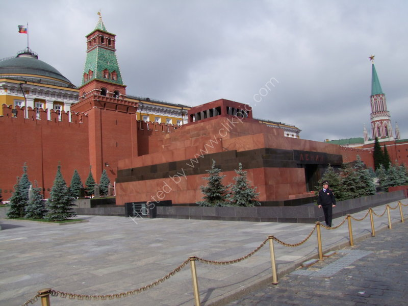 Vladimir Lenin's Mausoleum, Red Square