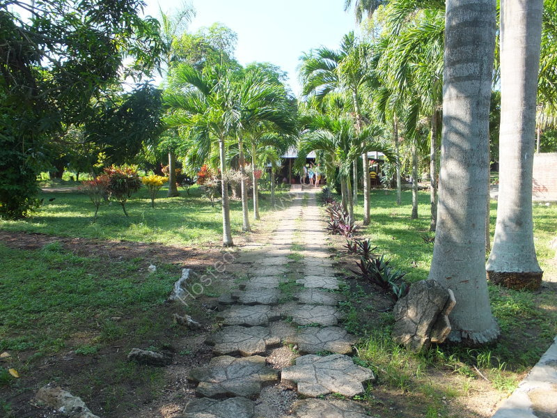 Entrance to El Curujay Restaurant, Remedios