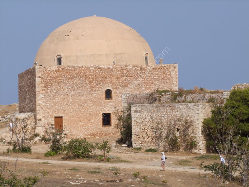 Mosque of Sultan Ibrahim Han, Fortezza Castle 1580