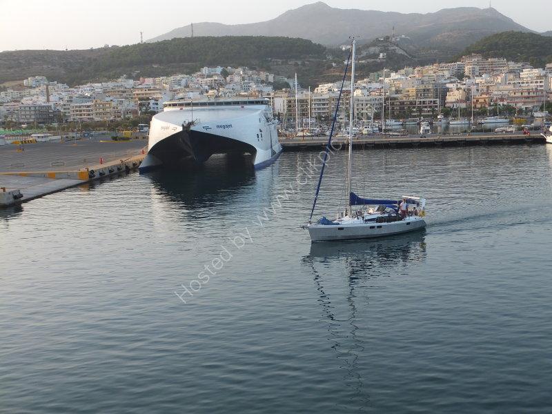 Town, Harbour & Ferry, Rethimnon, Crete
