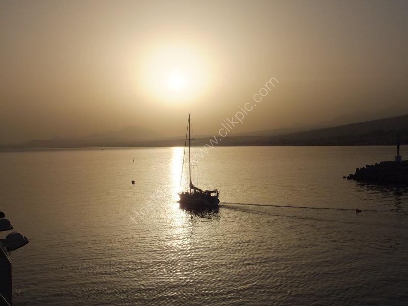 Sunrise, Rethimnon, Crete