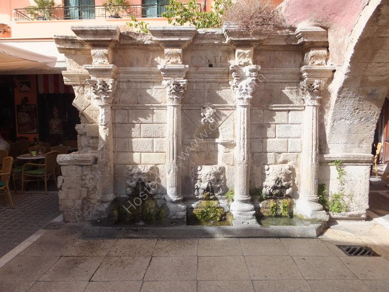 Rimondi Fountain, Rethimnon, Crete