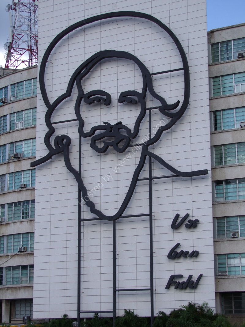 Fidel Castro, Revolution Square, Havana