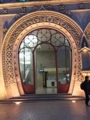 Ornate Entrance to Rossio Train Station