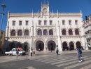 Facade of Rossio Train Station