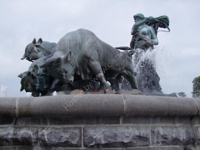 Fountain next to St Albans Church