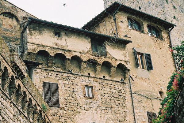 Buildings, San Gimignano, Italy