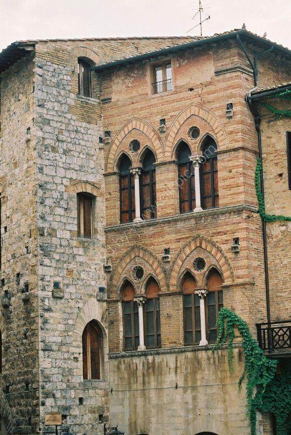 Building, San Gimignano, Tuscany