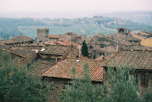 Overlooking San Gimignano, Tuscany