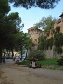 City Wall, San Gimignano, Tuscany